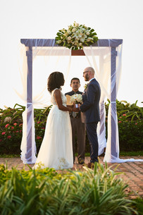 Wedding ceremony photography at the Tamarindo Diria, Costa Rica