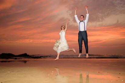 Jump for joy at the Ripjack Inn in Playa Grande, Costa Rica