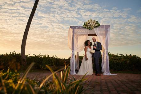 Wedding photography at the Tamarindo Diria, Costa Rica