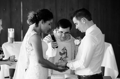 Getting married at the Hacienda Pinilla Chapel in Costa Rica