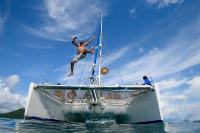 Adventure photography with Panache Sailing in Playa Flamingo, Costa Rica