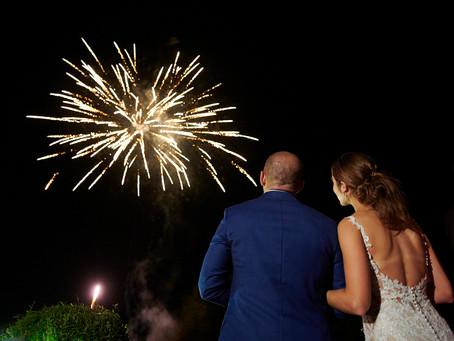 Fireworks at the RIU Palace
