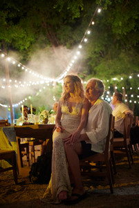 Wedding reception photos at Pangas Beach Club in Tamarindo, Costa Rica