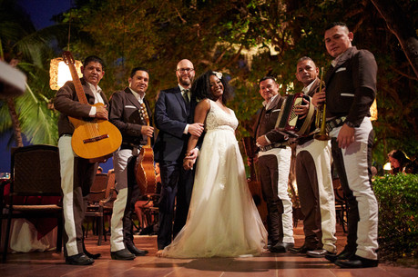 Wedding reception photographer at the Tamarindo Diria, Costa Rica
