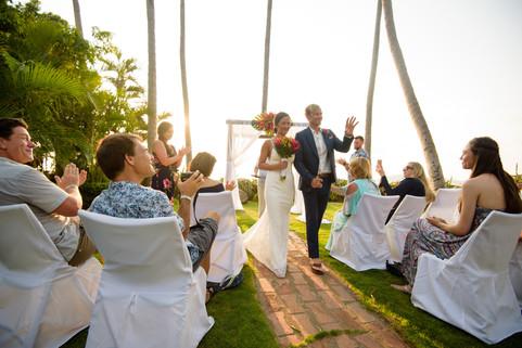 Getting married at the Tamarindo Diria in Tamairndo, Costa Rica