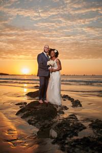 Wedding photos at the Tamarindo Diria, Costa Rica