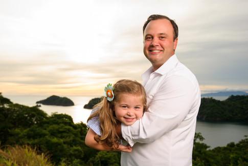 Family photos at the Four Seasons Papagayo, Costa Rica