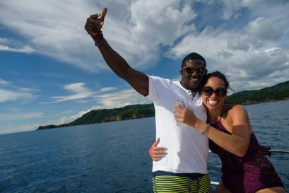 Having a blast with Panache Sailing in Playa Flamingo, Costa Rica
