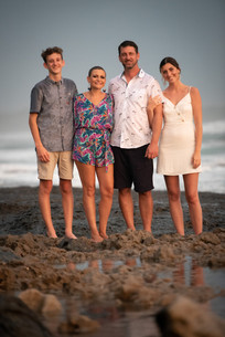 Family portraits in Tamarindo, Costa Rica