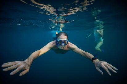 Private underwater photographer with Serendipity Charters Catamaran, Costa Rica