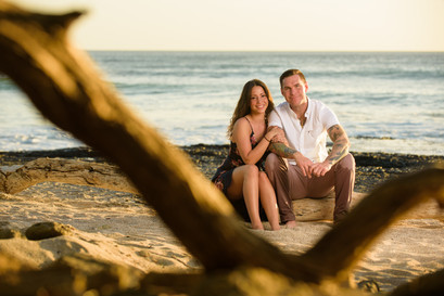 Engagement photo shoot in Tamarindo, Costa Rica