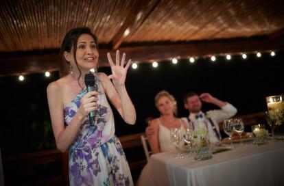 Wedding reception photos at RipJack Inn in Playa Grande, Costa Rica