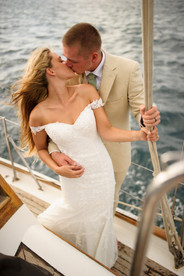 Costa Rica Sailboat wedding on the water