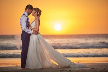 Destination wedding photos at RipJack Inn in Playa Grande, Costa Rica