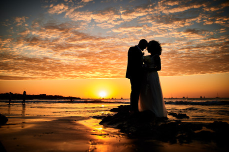 Wedding sunset at the Tamarindo Diria, Costa Rica