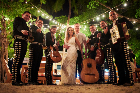 Wedding reception at Pangas Beach Club in Tamarindo, Costa Rica