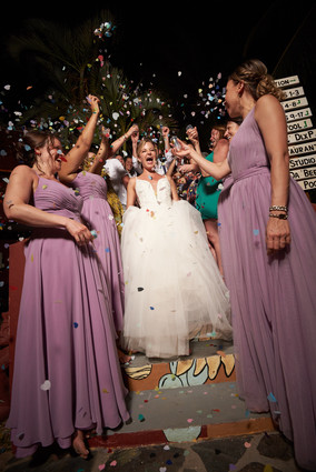 Wedding reception photographer at RipJack Inn in Playa Grande, Costa Rica