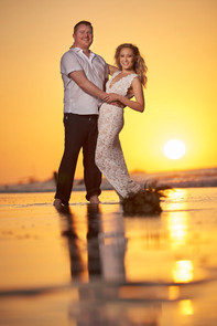 Wedding photography at Pangas Beach Club in Tamarindo, Costa Rica
