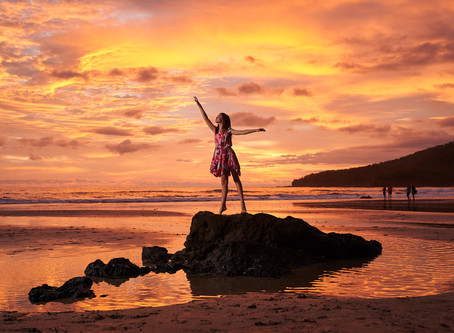 Playa Grande Delivers Magical Sunset