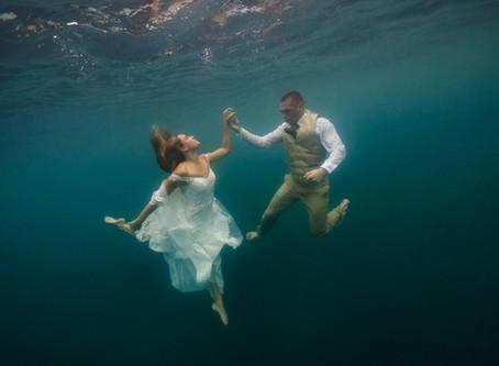 Shipwrecked: an Underwater Wedding in Costa Rica