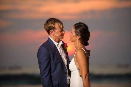 Just married at the Tamarindo Diria in Tamairndo, Costa Rica