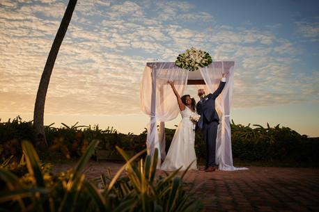 Just married at the Tamarindo Diria, Costa Rica