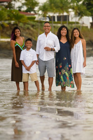 Family photography at the Palms in Playa Flamingo, Costa Rica