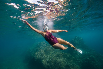 Snorkeling photography with Panache Sailing in Playa Flamingo, Costa Rica