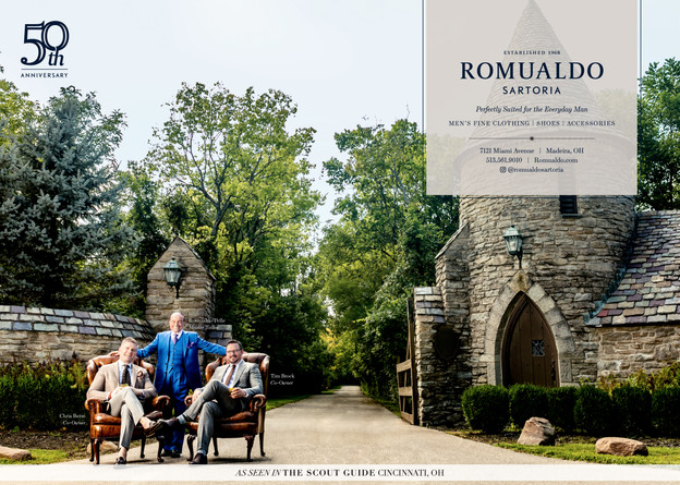 Romualdo for the Cincinnati Scout Guide