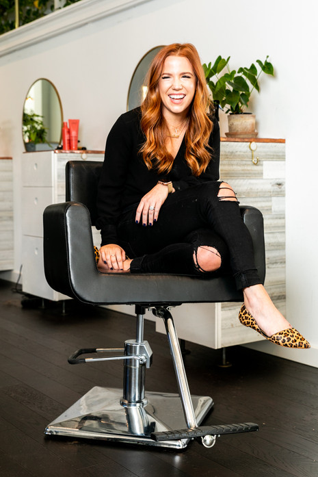 Elizabeth Luttmer for Benefit Salon