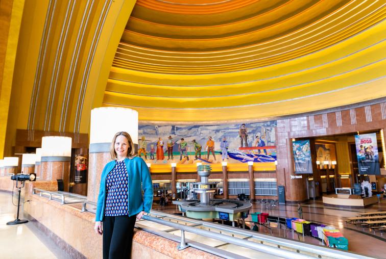 Elizabeth Pierce, CEO, Cincinnati Museum Center