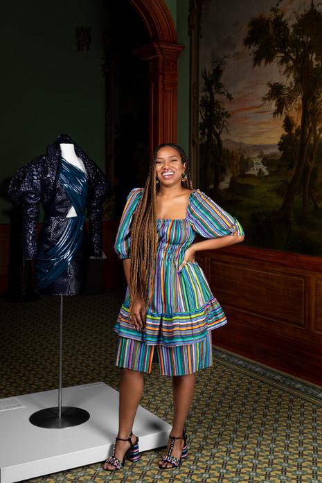 Asha Ama Bias-Daniels, fashion designer
