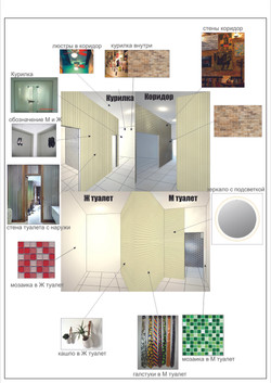 Туалеты и Курилка