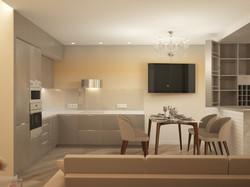 Гостиная Кухня Коридор 4