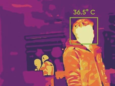 Caméras thermographiques pour la mesure de la température