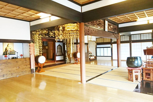 妙輪寺本堂 レンタルスペース(営利目的)