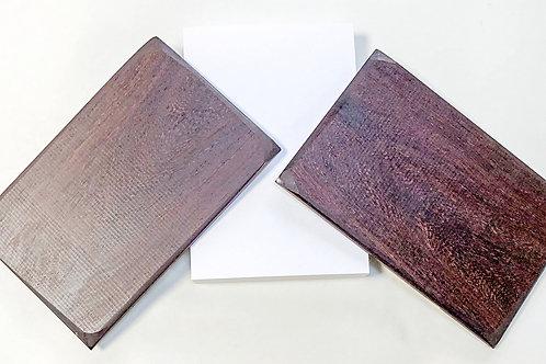 レッツDIY!妙輪寺特製 最高級紫檀ご朱印帳キット