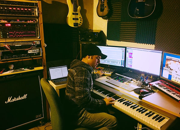 Lucas Toledo - Online mixing and mastering.