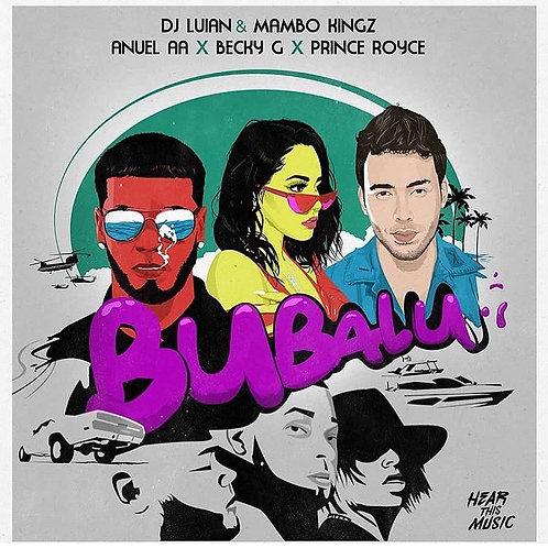 Bubalu - DJ Luian, Mambo Kingz, Anuel AA, Prince Royce, Karol G (midi file)
