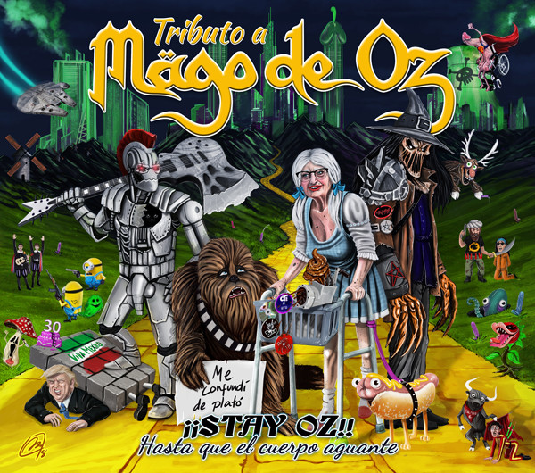 Mägo de Oz - El Atrapasueños. A cover of Mägo de Oz, incluided in the album Stay Oz. Estudio de grabación, music production. El Atrapasueños por Salduie.