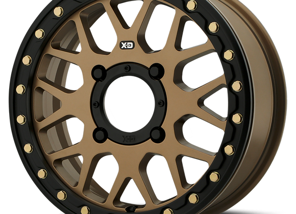 KMC XS235 Grenade Beadlock Wheel