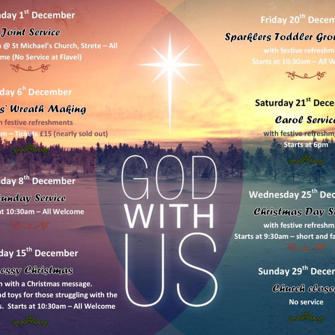 Christmas Overview - Flavel Church Dartmouth