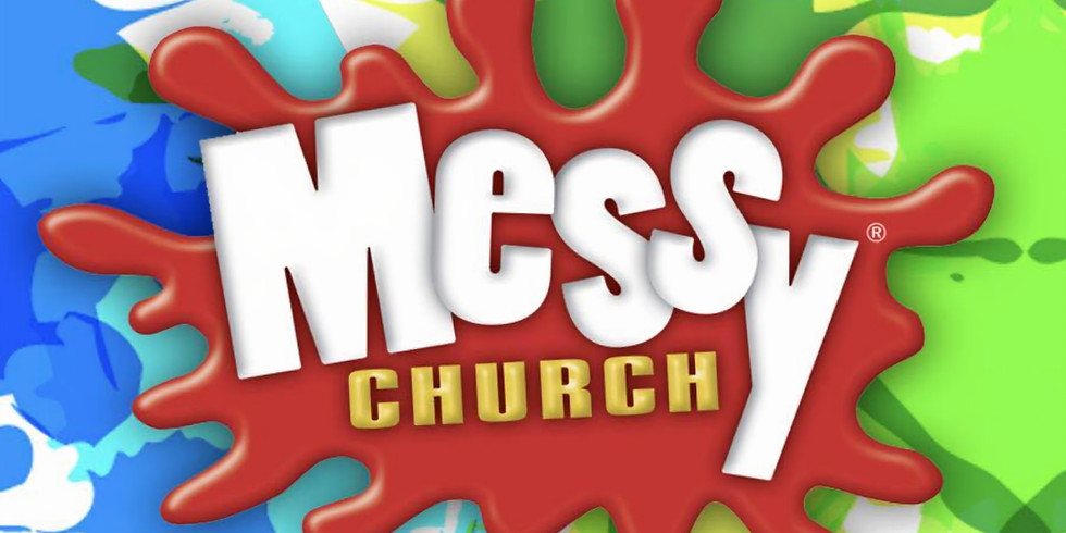 Messy church - Joint service at Strete