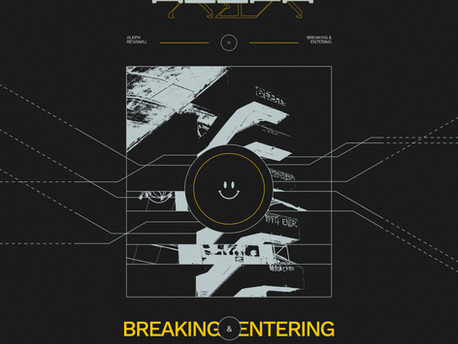 """Bass Connoisseur ALEPH Announces New EP With Single """"Breaking And Entering"""""""