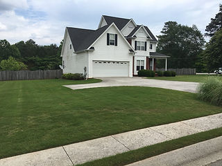 Residential Lawn Maintence