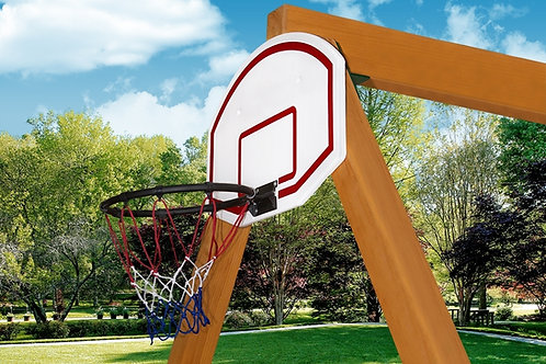 Basketball Hoop: Includes Ball and Inflation Pump