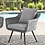 Thumbnail: Endeavor 4 Piece Outdoor Patio Wicker Rattan Loveseat Armchair and Coffee Table