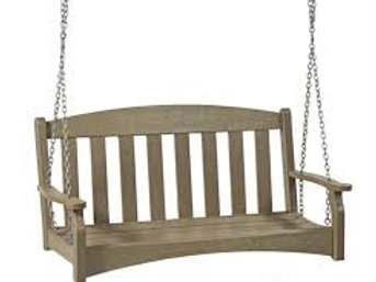 "48"" swinging bench"