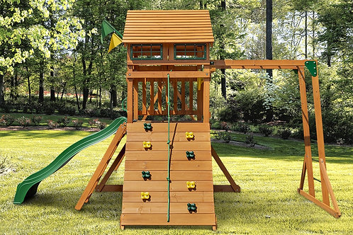 Outing w/ Monkey Bars and  Wood Roof