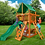 Thumbnail: Chateau Tower w/ Deluxe Green Vinyl Canopy
